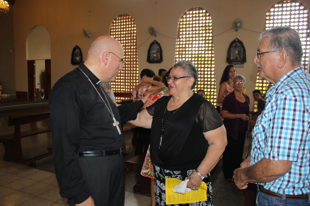 I Visita Pastoral a la Parroquia San Rafael Arcángel, Guatuso